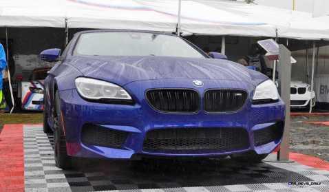 2016 BMW M6 Convertible - San Merino Blue 1