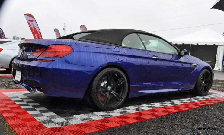 2016 BMW M6 Convertible - San Merino Blue 15