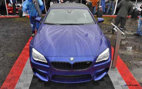 2016 BMW M6 Convertible - San Merino Blue 9