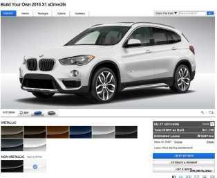 2016 BMW X1 Colors 1