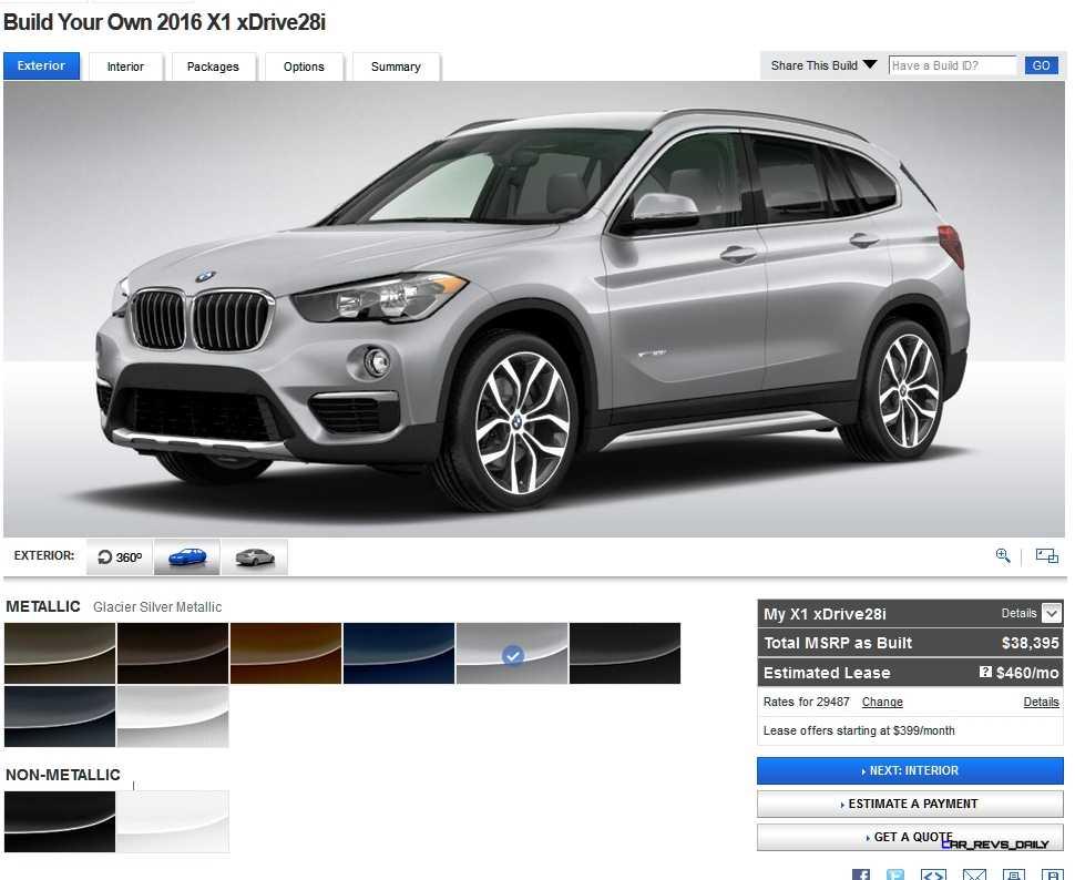 2016 BMW X1 Colors 4