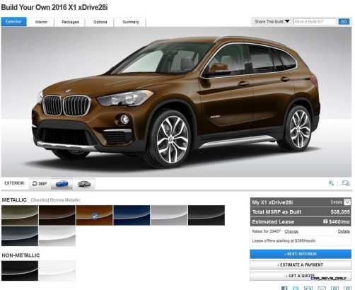 2016 BMW X1 Colors 8