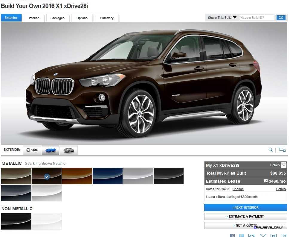 2016 BMW X1 Colors 9