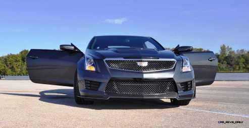 2016 Cadillac ATS-V Coupe 12