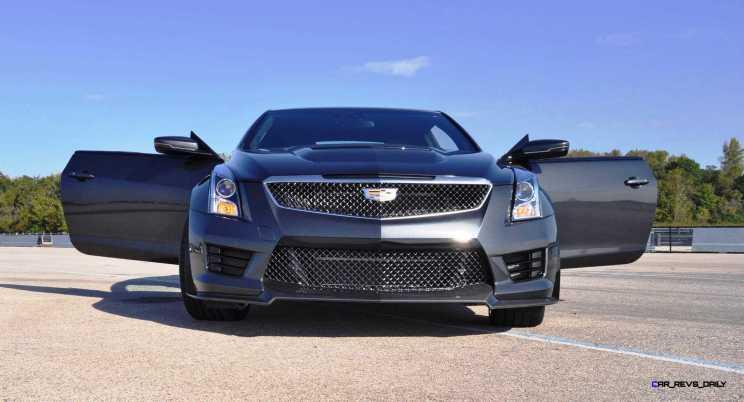 2016 Cadillac ATS-V Coupe 13