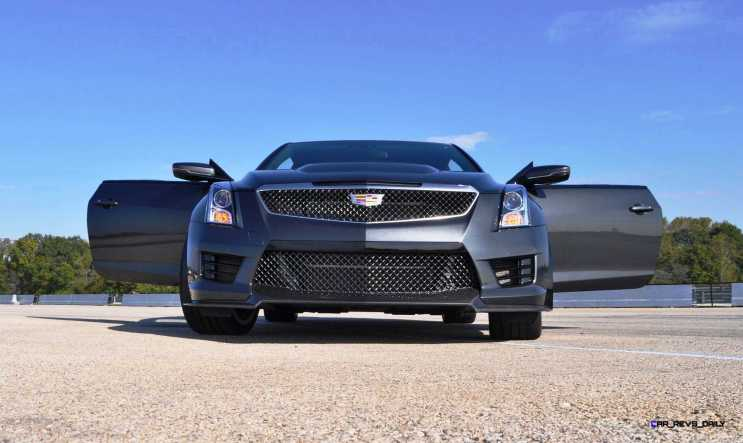 2016 Cadillac ATS-V Coupe 15