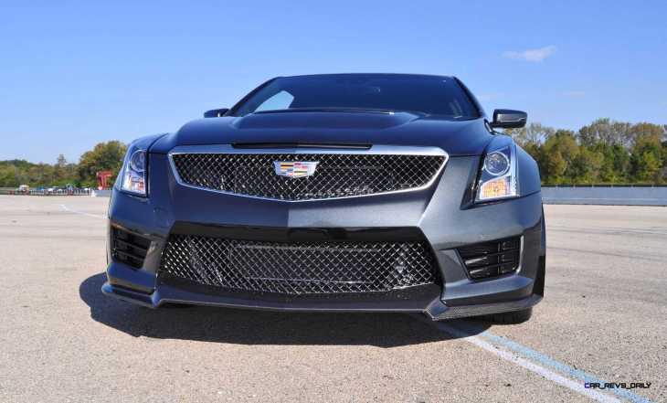 2016 Cadillac ATS-V Coupe 41