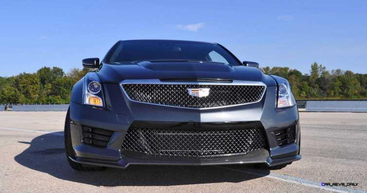 2016 Cadillac ATS-V Coupe 45