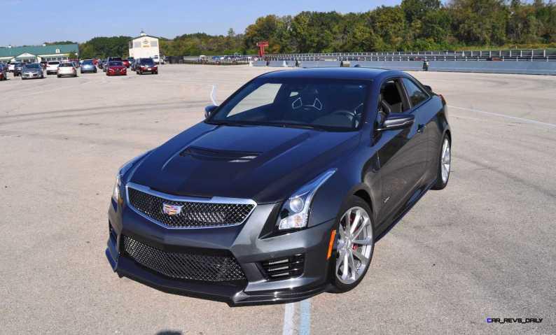 2016 Cadillac ATS-V Coupe 57