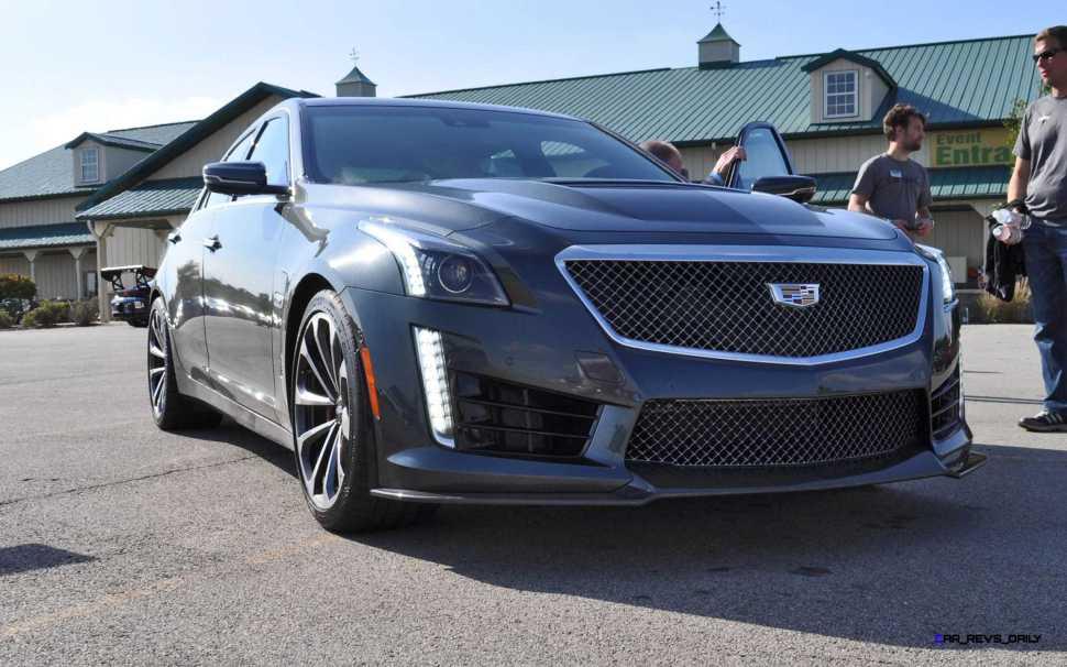 2016 Cadillac CTS-V Phantom Grey and Carbon Package 23