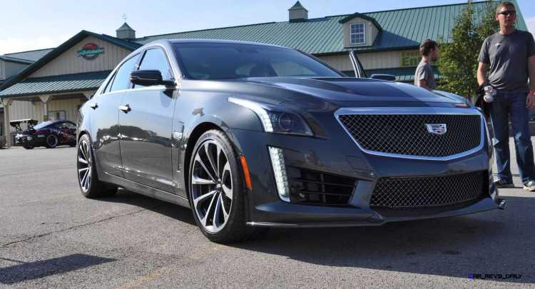 2016 Cadillac CTS-V Phantom Grey and Carbon Package 26