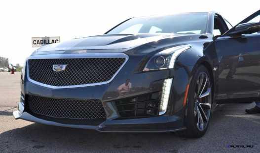 2016 Cadillac CTS-V Phantom Grey and Carbon Package 8