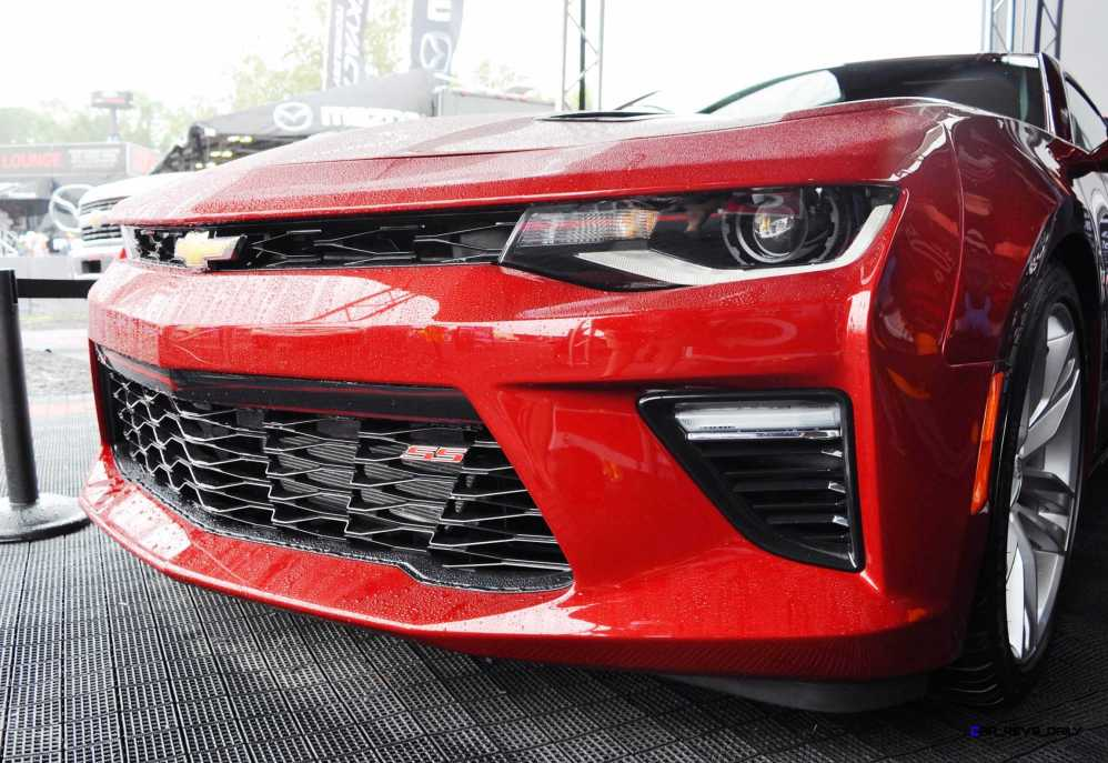 2016 Chevrolet CAMARO SS Shows Chisel-Flow Redesign at Petit Le Mans 13