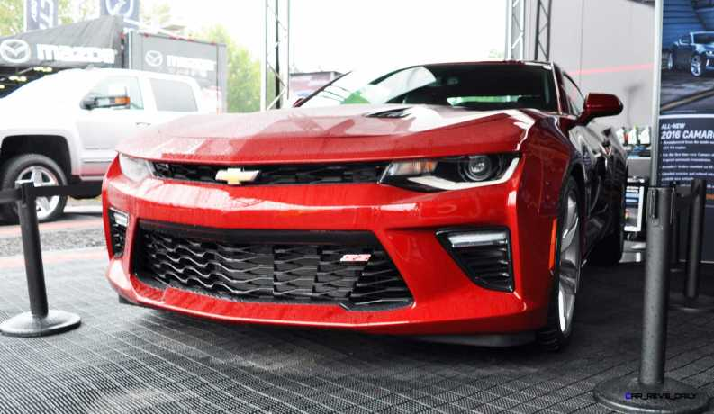 2016 Chevrolet CAMARO SS Shows Chisel-Flow Redesign at Petit Le Mans 8