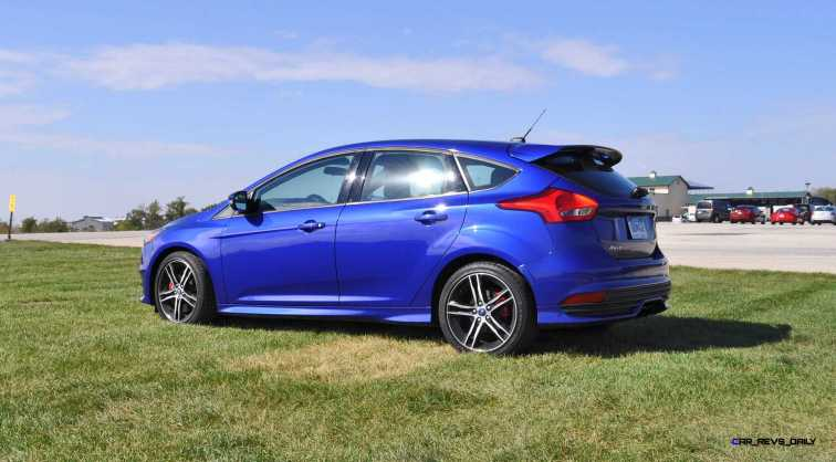 2016 Ford FOCUS ST Kona Blue 55