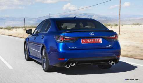 2016 Lexus GS-F 20