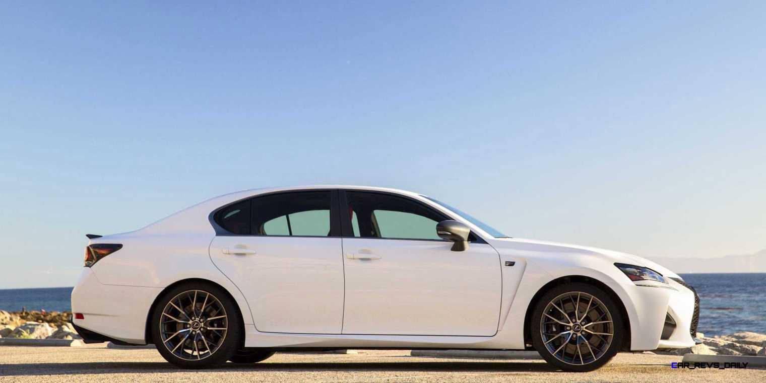 2016 Lexus GS-F 8