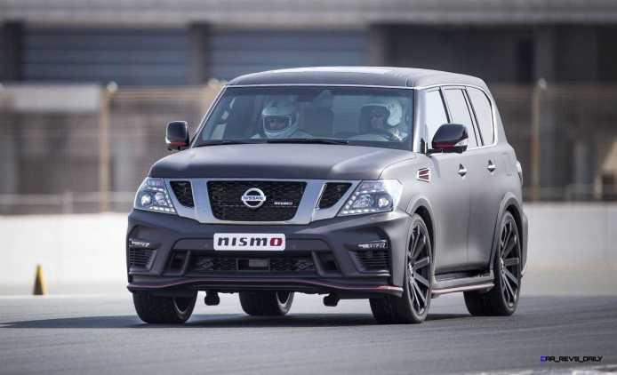 2016 Nissan Patrol NISMO Black 11