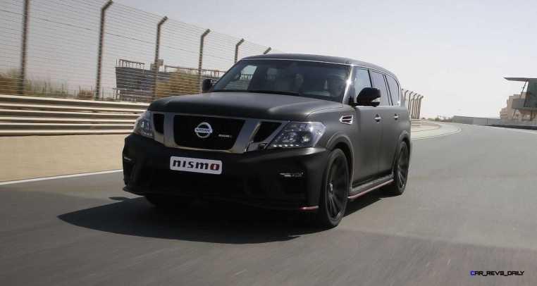 2016 Nissan Patrol NISMO Black 20