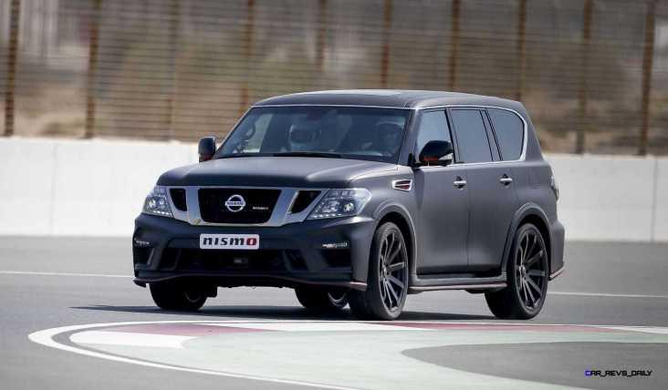 2016 Nissan Patrol NISMO Black 29