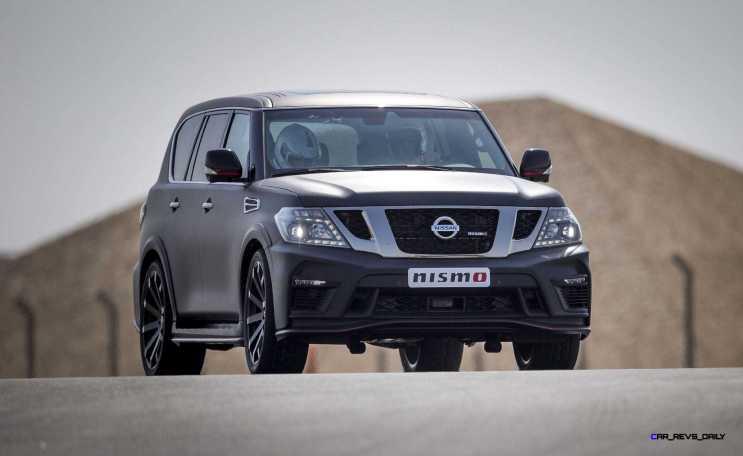 2016 Nissan Patrol NISMO Black 33