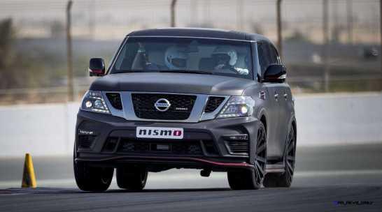 2016 Nissan Patrol NISMO Black 4