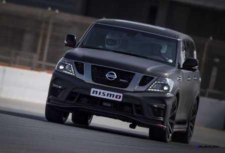 2016 Nissan Patrol NISMO Black 5