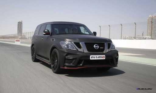 2016 Nissan Patrol NISMO Black 6