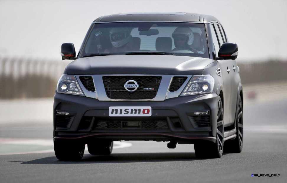 2016 Nissan Patrol NISMO Black 7