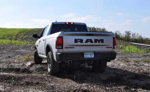 2016 RAM Rebel Silver 36