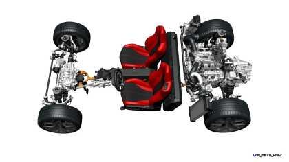 2017 Acura NSX - Sport Hybrid Super Handling All-Wheel Drive system.