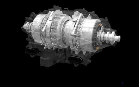 2017 Acura NSX - Twin Motor Unit (TMU).