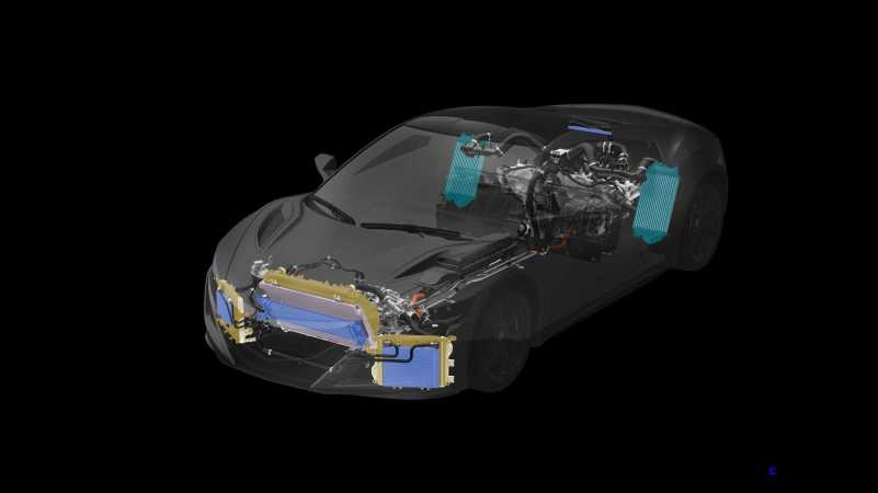 2017 Acura NSX - Total Airflow Management, Powertrain & Heat Exchangers.