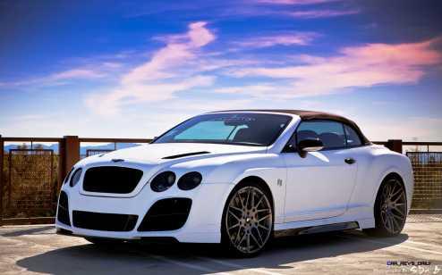 Prior Design Bentley Continental GT GTC Aerodynamics in Matte White_6892697310_o