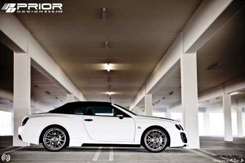 Prior Design Bentley Continental GT GTC Aerodynamics in Matte White_6892697558_o