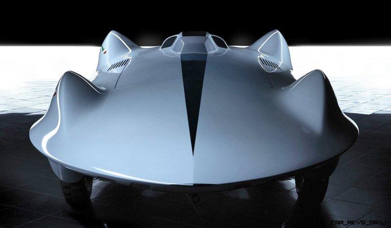 1955 Carlo Mollino Record Car Model by Stola 7