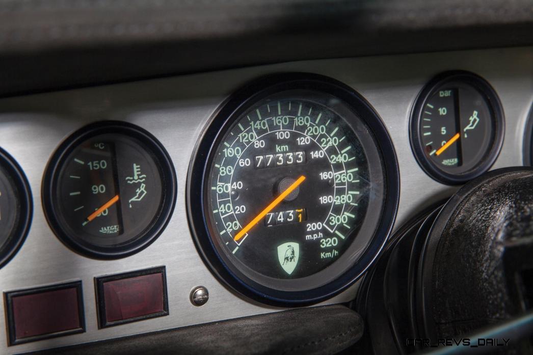 1981 Lamborghini Countach LP400 S Series III 16