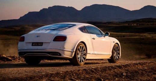 2016 Bentley Continental GT SPEED 10