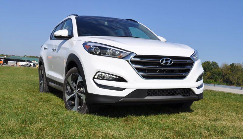 2016 Hyundai TUCSON Limited 1.6T AWD 13