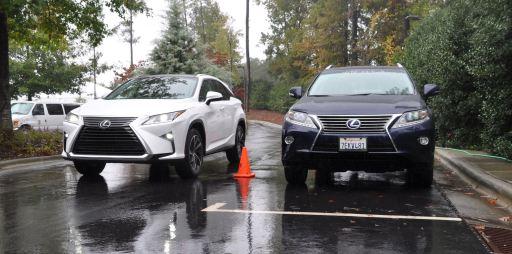 2016 Lexus RX vs 2015 model 3