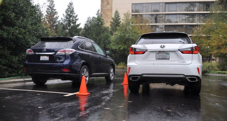 2016 Lexus RX vs 2015 model 9