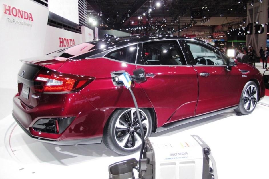 2017 Honda CLARITY FUEL CELL 8