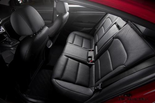 2017 Hyundai ELANTRA Sedan Interior 16