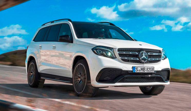2017 Mercedes-Benz GLS 8