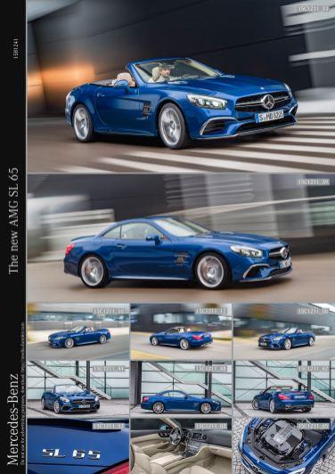The new AMG SL 65