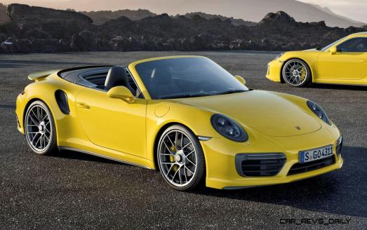 2017 Porsche 911 Turbo 5