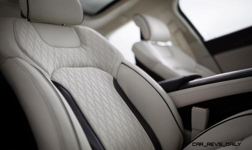 """Distinctively redesigned from the inside out, including the all-new available Lincoln Black Label theme """"Chalet""""."""