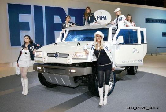 Concept Flashback - 2005 Fiat OLTRE 14