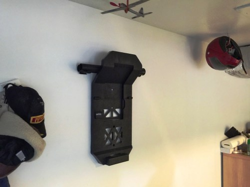 Emerson WORKSHOP 5HP Portable Wall Mount WetDry Vac 13