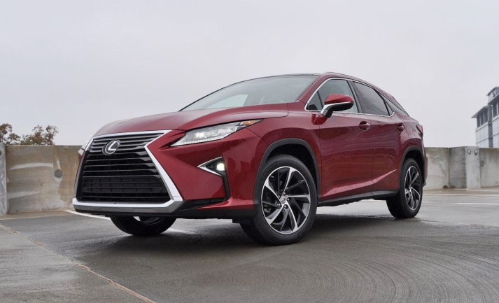 First Drive Review - 2016 Lexus RX350 FWD Luxury Package 10